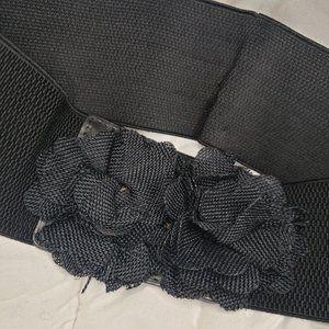 Black Flower Belt 🎉